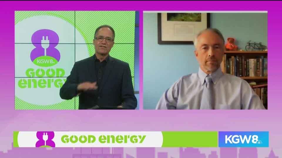 Matt Zaffino talks climate science with Oregon State University