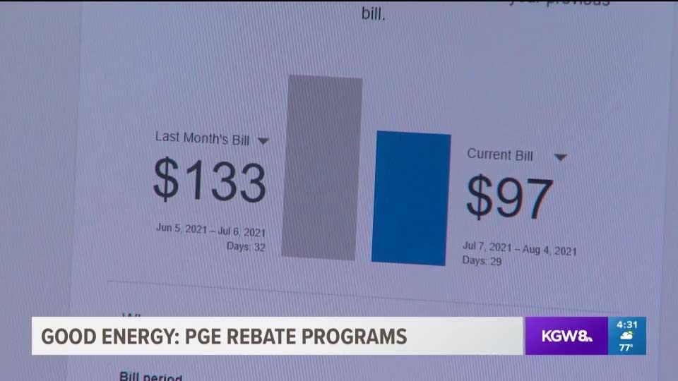 PGE rebate programs