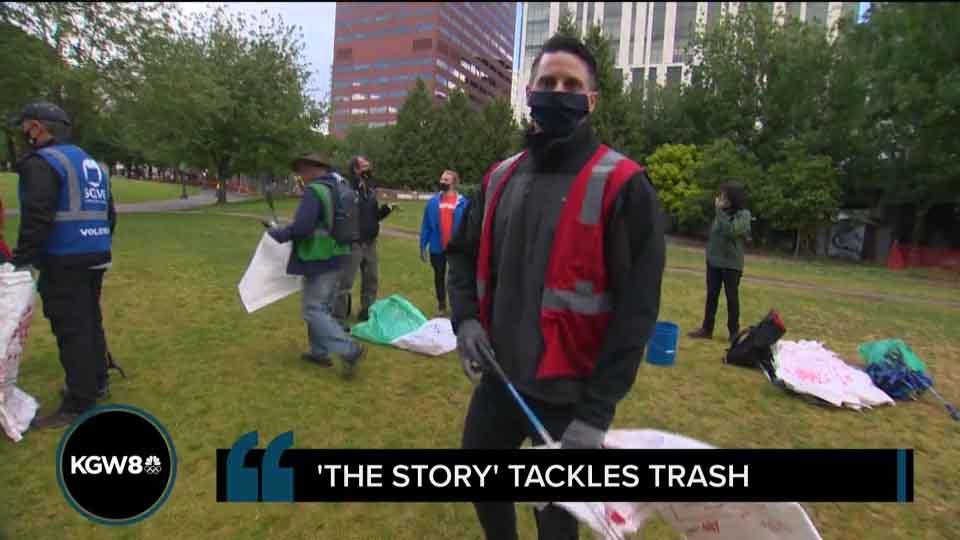 The Story tackles trash